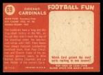 1958 Topps #69  Cardinals Team  Back Thumbnail