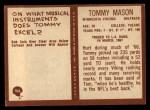 1967 Philadelphia #104  Tommy Mason  Back Thumbnail