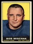 1961 Topps #153   Bob Mischak Front Thumbnail