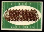 1961 Topps #121   Cardinals Team Front Thumbnail