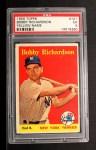 1958 Topps #101 *YN* Bobby Richardson  Front Thumbnail