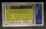 1961 Topps #552  Jim Archer  Back Thumbnail