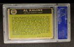 1961 Topps #580   -  Al Kaline All-Star Back Thumbnail