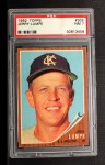 1962 Topps #305  Jerry Lumpe  Front Thumbnail