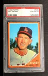 1962 Topps #549   Bill Rigney Front Thumbnail