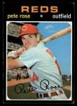 1971 Topps #100   Pete Rose Front Thumbnail