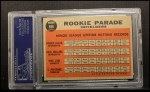 1962 Topps #596   -  Bernie Allen / Rich Rollins / Phil Linz / Joe Pepitone Rookie Parade - Infielders Back Thumbnail