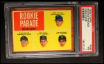 1962 Topps #596  Rookie Parade - Infielders  -  Bernie Allen / Rich Rollins / Phil Linz / Joe Pepitone Front Thumbnail