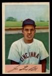 1954 Bowman #76  Joe Nuxhall  Front Thumbnail