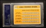 1963 Topps #228  Rookie Stars    -  Max Alvis / Bob Bailey / Ed Kranepool / Tony Oliva Back Thumbnail