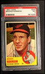 1963 Topps #345   Brooks Robinson Front Thumbnail