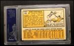 1963 Topps #449  Jose Tartabull  Back Thumbnail