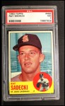 1963 Topps #486   Ray Sadecki Front Thumbnail