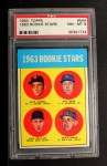 1963 Topps #544   Rookie Stars    -  Rusty Staub / Dick Phillips / Bill Haas / Duke Carmel Front Thumbnail
