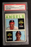 1964 Topps #127  Angels Rookies  -  Dick Simpson / Aubrey Gatewood Front Thumbnail