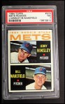 1964 Topps #576   Mets Rookie Stars  -  Jerry Hinsley / Bill Wakefield Front Thumbnail
