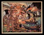 1938 Gum Inc. Horrors of War #61   Blowing Up the Wen River Railway Bridge Front Thumbnail