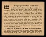 1938 Gum Inc. Horrors of War #122   Hongkong Builds New Fortifications Back Thumbnail