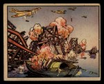 1938 Gum Inc. Horrors of War #85   Jap Planes Bomb Yellow River Bridge Front Thumbnail