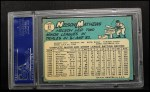 1965 Topps #87   Nelson Mathews Back Thumbnail