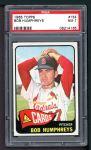 1965 Topps #154   Bob Humphreys Front Thumbnail