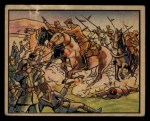 1938 Gum Inc. Horrors of War #93   Crack Rebel Calvary Attacks Loyalists Front Thumbnail