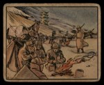 1938 Gum Inc. Horrors of War #100   Blizzard Halts Military Operations Front Thumbnail