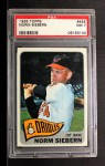 1965 Topps #455   Norm Siebern Front Thumbnail