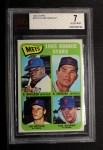 1965 Topps #533   Mets Rookie Stars  -  Tug McGraw / Ron Swoboda / Jim Bethke / Dan Napoleon Front Thumbnail