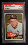 1965 Topps #556  Red Schoendienst  Front Thumbnail