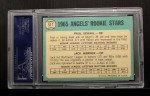 1965 Topps #517  Angels Rookies  -  Paul Schaal / Jack Warner Back Thumbnail