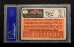 1966 Topps #91 TR  Bob Uecker Back Thumbnail