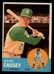 1963 Topps #539   Wayne Causey Front Thumbnail