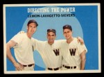 1959 Topps #74  Directing The Power  -  Jim Lemon / Roy Sievers / Cookie Lavagetto Front Thumbnail