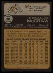 1973 Topps #86  Tom McCraw  Back Thumbnail