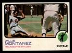 1973 Topps #97  Willie Montanez  Front Thumbnail