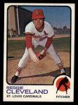 1973 Topps #104  Reggie Cleveland  Front Thumbnail