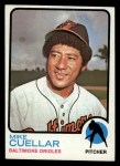 1973 Topps #470   Mike Cuellar Front Thumbnail