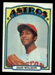 1972 Topps #20   Don Wilson Front Thumbnail