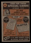 1972 Topps #46  In Action  -  Glenn Beckert Back Thumbnail