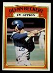 1972 Topps #46  In Action  -  Glenn Beckert Front Thumbnail
