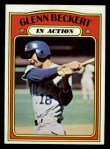 1972 Topps #46  In Action  -  Glenn Beckert Front Thumbnail