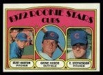 1972 Topps #61   Cubs Rookie Stars    -  Gene Hiser / Burt Hooton / Earl Stephenson Front Thumbnail