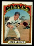 1972 Topps #74  Cecil Upshaw  Front Thumbnail
