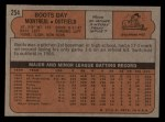 1972 Topps #254   Boots Day Back Thumbnail