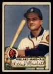 1952 Topps #96   Willard Marshall Front Thumbnail