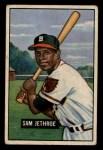 1951 Bowman #242   Sam Jethroe Front Thumbnail