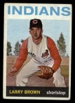 1964 Topps #301  Larry Brown  Front Thumbnail