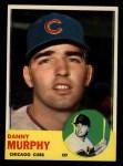 1963 Topps #272   Danny Murphy Front Thumbnail