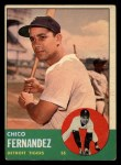 1963 Topps #278  Chico Fernandez  Front Thumbnail